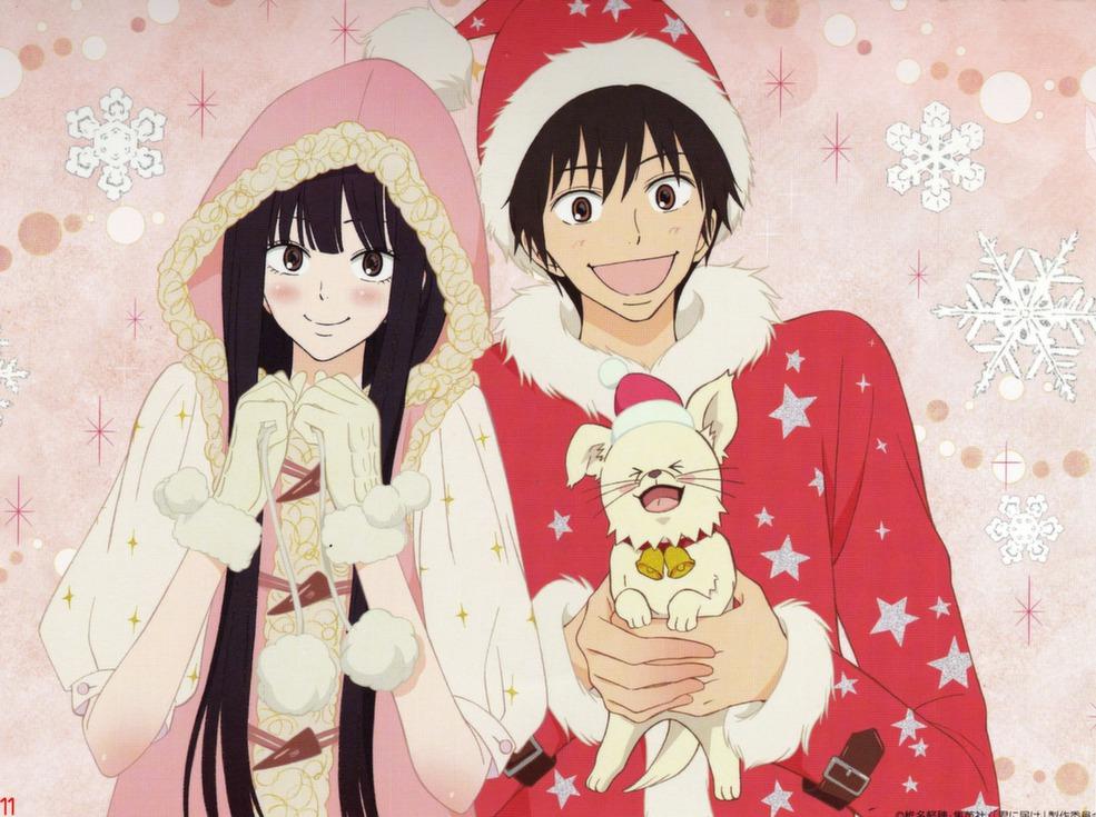 Immagini Anime Natalizie.Buon Natale E Buone Feste Pane Shoujo E Fantasia