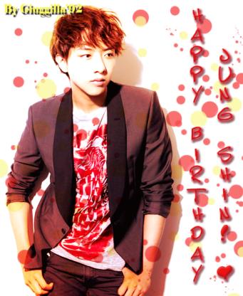 Happy B-Day Jung Shin